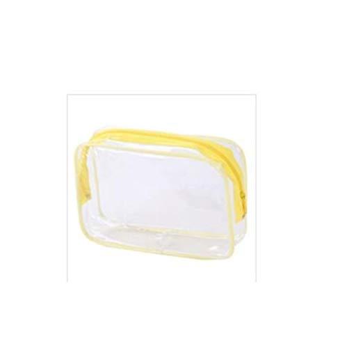 Grande Capacité 1 pcs PVC Voyage cosmétiques Sacs femmes transparent maquillage clair Zipper Sacs Organisateur bain de lavage Make Up Pouch Toiletry (