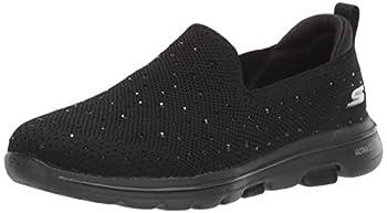 Skechers GO Walk 5-Limelight Sneaker Black 7 M US
