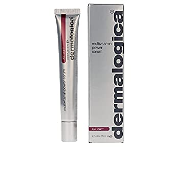 Dermalogica Multivitamin Power Serum  0.75 Fl Oz  Anti-Aging Face Serum with Vitamin C and Vitamin E - Reduces Fine Lines and Wrinkles Controls Pigmentation