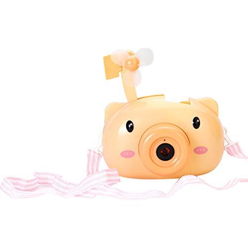 Seifenblasen Maschine, Kinder Seifenblasenmaschine Badewanne Batteriebetrieben, Baby Spielzeug Bubble Machine Badewannenspielzeug für Geburtstagsfeier, Hochzeit, Bubble Blower Maker (Gelb)