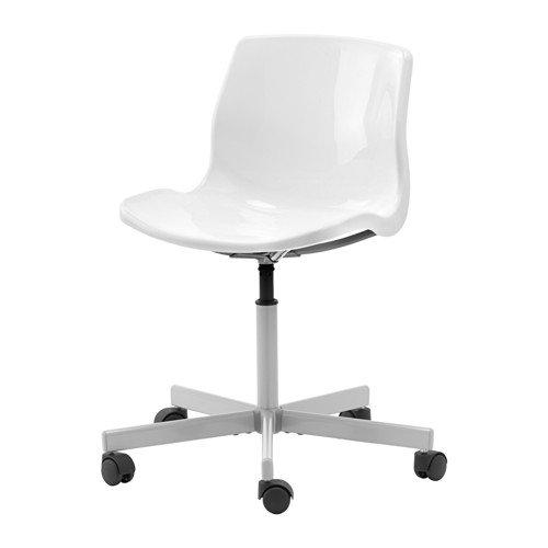 Ikea Snille - Silla Giratoria, Blanco