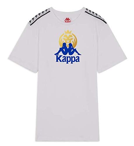 Kappa MAD Lions Official tee 2020 Camiseta, Unisex Adulto, White, XS