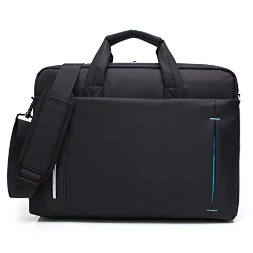 RZL Pad y Tab Fundas para MacBook Lenovo ASUS, Business Messenger Bolsos de Hombro Bolsos Maletín Bolso Mujeres Hombres Portátiles Bolsos Portátil Tablet Bag para MacBook 15.6 17.3 Lenovo ASUS