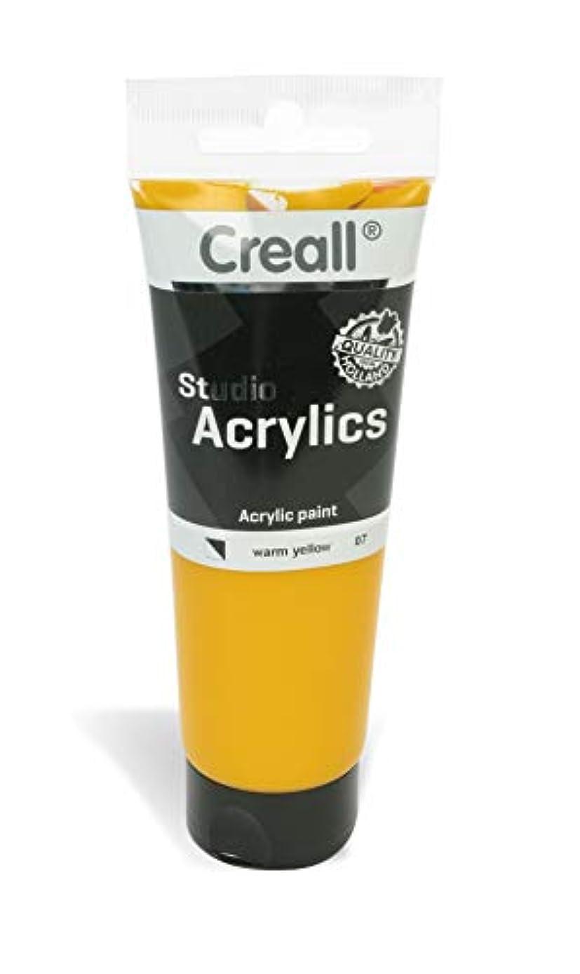 American Educational Products A-33707 Creall Studio Acrylics Tube, 120 mL, 07 Warm Yellow