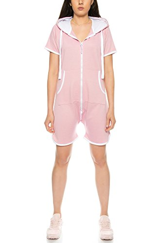 Crazy Age zomer jumpsuit overall kort One Piece Beach overall Basic 1-delig strandpak