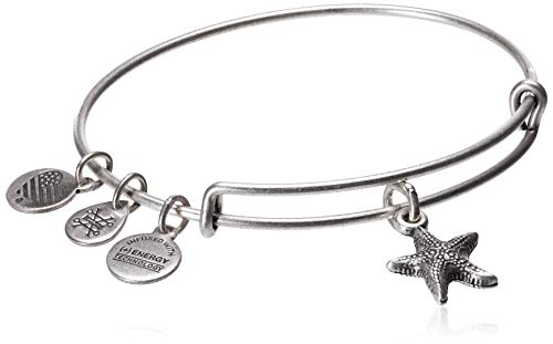 Alex and Ani Starfish II Rafaelian Silver Bangle Bracelet