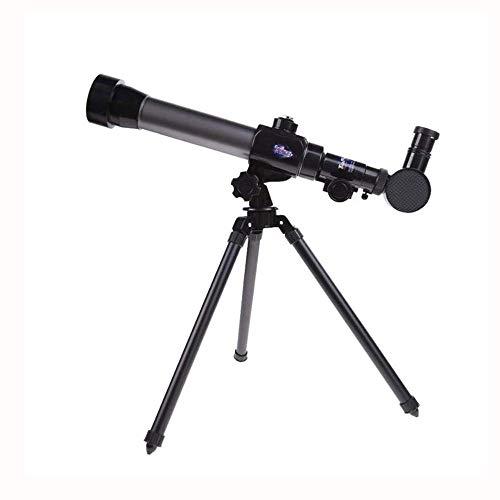WNN-URG 20x / 30x / 40x Außen Astronomisches Teleskop mit beweglichem leichtem Stativ und Objektiv, Teleskop Spielzeug for Kinder URG