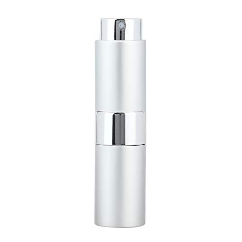 Flacon d'atomiseur de parfum vide approprié, bouteilles de pompe de résistance à la corrosion de matériaux de qualité 15ml de qualité de qualité en verre et buse d'oxyde d'aluminium et d'aluminium