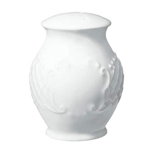 VEGA 10013619 Salzstreuer Menuett, 5.5 cm (H), weiß, 6 Stück