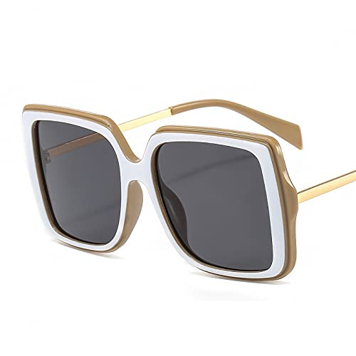 LUOXUEFEI Gafas De Sol Gafas De Sol Cuadradas De Gran Tamaño Mujeres Que Conducen Gafas De Sol Para Hombres Gafas De Sol Para Damas