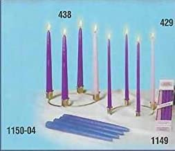 Emkay Candles 184901 Candle-Advent Tiny Tapers Refill 10 in.