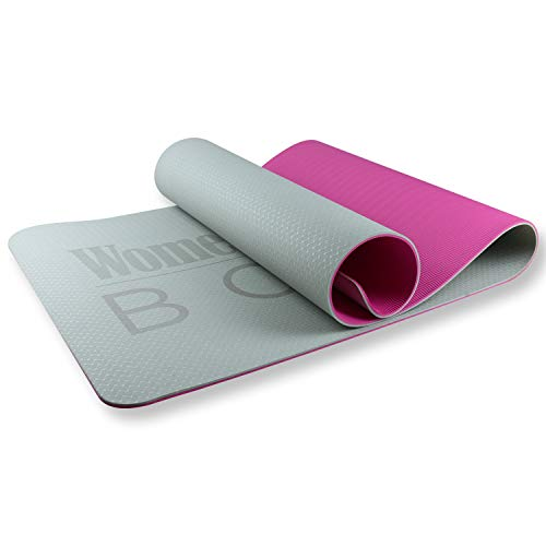 Women's Health BODY Fitnessmatte Gym MAT | Hautfreundliche Fitnessmatte | Gepolstert & rutschfest für Fitness Pilates & Gymnastik