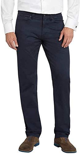 Kirkland Signature Mens Standard fit 5-Pocket Pants (Dress Blues, 36W x 32L)