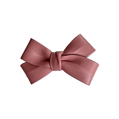 Plus Nao(プラスナオ) ヘアクリップ レディース 女性用 ヘアアクセサリー くちばしクリップ 髪飾り 髪留め まとめ髪 ヘアアレンジ リボン - ピンク