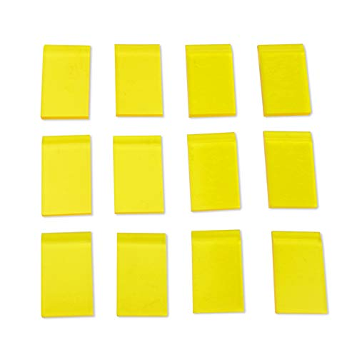 Mini Squeegees/Screen Printing Squeegee/Rubber Squeegee -12PCS