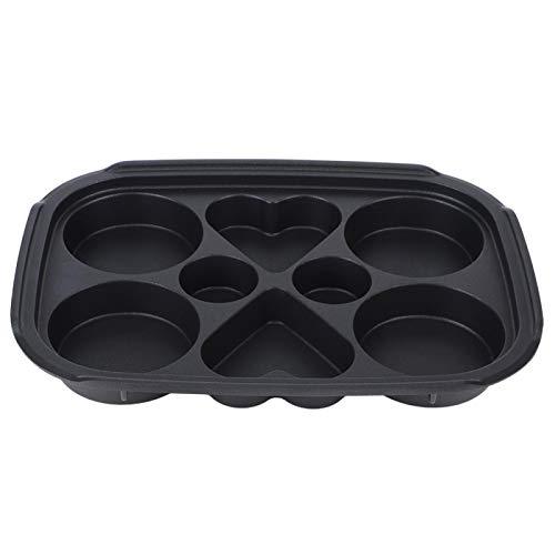 Cookie Sheet, Practical Multifunctional Cast Iron Baking Sheet, Durable Hot Pot for Takoyaki(Multi-function disk)