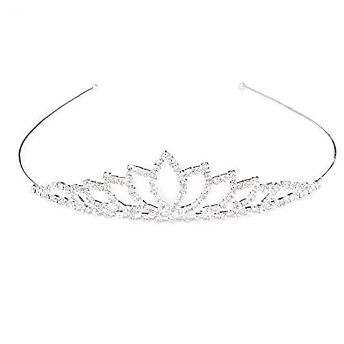 Hiinice Crown Haops Hoops Boda Novia Crown Vogue Girls Princess Bridal Crystal...