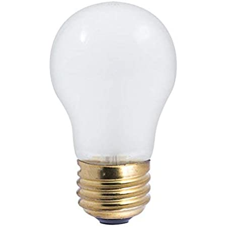 PACK OF 2 BULBRITE 110025 25W 12V LOW VOLTAGE FROSTED INCAND A19 BULB E26 BASE