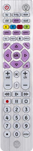 GE Universal Remote, Backlit, for Samsung, Vizio, Lg, Sony, Sharp,...