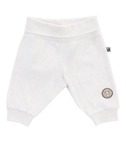 Jacky unisex baby joggingbroek, 100% katoen, gebroken wit, Jacky Elephant, maat 86, 374102
