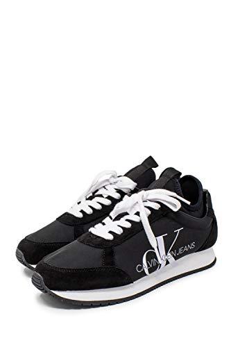 Calvin Klein, Jemmy Black S0136, Zapatillas para Hombre, 43