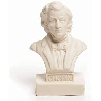 Statuette Chopin 5 1/2 Inch Halbe Composer Figurine