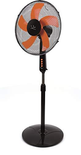 Jata VP3035 Ventilador de pie, 50 W, 40 Decibelios, Plástico, 3 Velocidades, Negro