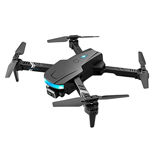 B Blesiya Dron GPS plegable de 4 ejes cardán doble cámara de 1,2 km cuadricóptero, brazos plegables GPS gimbal sin escobillas - Dos lentes 4K 1 batería