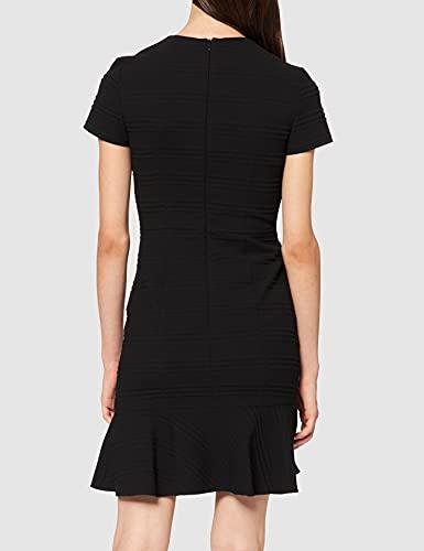 HUGO Kilanas Vestido de cctel, Negro1, 38 para Mujer
