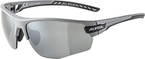 ALPINA Unisex - Erwachsene, TRI-SCRAY 2.0 HR Sportbrille, grey matt, One size
