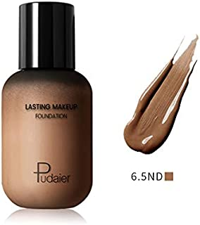 Pudaier Lasting Makeup Foundation – Face&Body Liquid Foundation Lightweight Bottle Full Coverage Invisible Pores Covering Blemishes - for All Skin Types (40 mL)