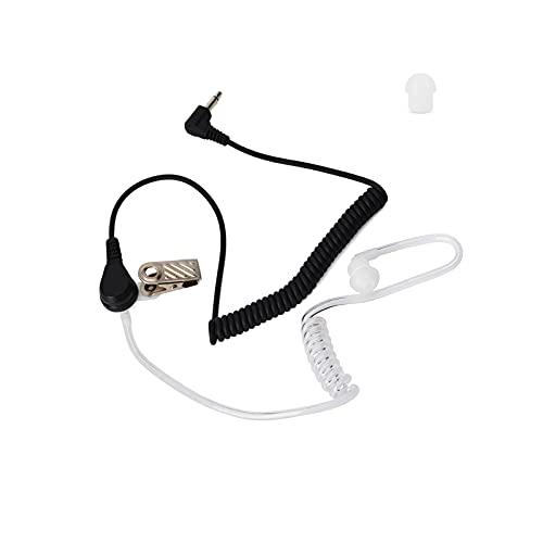 UAYESOK 3.5mm escuchar/receptor solo tubo de aire auriculares con seta auriculares para...