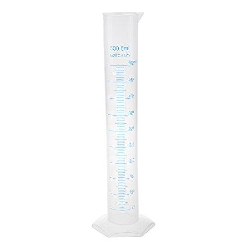 TOOGOO 500 ml en Plastique Transparent tube gradue