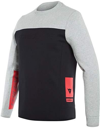 Dainese Contrast Sweatshirt Grau/Schwarz/Rot L