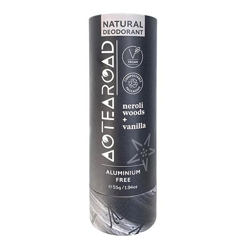 Aotearoad, Desodorante natural eficaz, maderas de Neroli y vainilla. Vegano, embalaje ecológico, hecho a mano en Nueva Zelanda