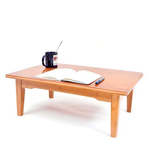 HCYTPL Ronde tafelBamboe kleine tafel student computer tafel slaapzaal eenvoudige kleine bureau