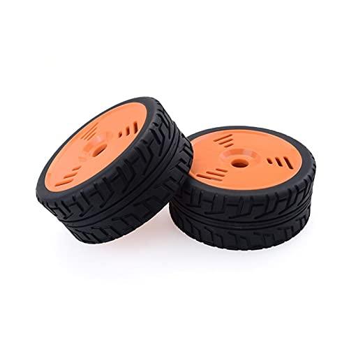 UGUTER Surpase 2pcs 100 mm neumáticos de Ruedas neumáticos 1/8 RC Buggy Crawler Off-Road Piezas de Autos para Redcat Team HPI (Color : 2PCS Type A)