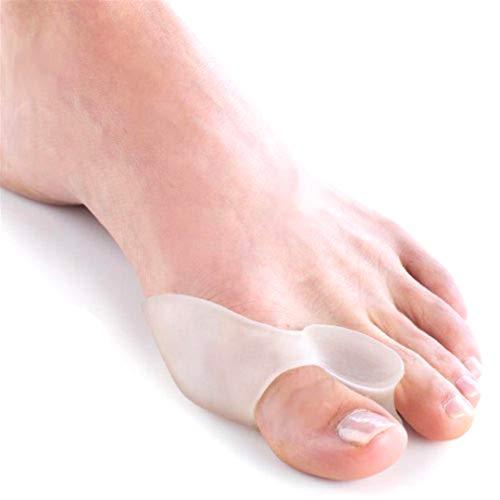 Dojore Ballenschutz aus Silikon und Schutz vor Reibung und Druck. Zehenspreizer Fußspreizer Einheitsgröße für Erwachsene.