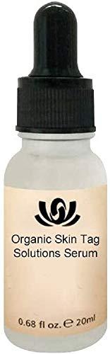20ml Organic Tags Solutions Serum Original,Painless Mole Skin Dark Spot Repair, Instant Skin Tag Remover & Mole Remover, Natural Wart Skin Tag Removal Cream
