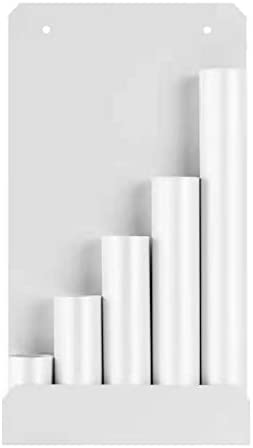 Cable Tie Rack Organizer Zip Wire Holder 7 9 Length 1 8 Width 14 6 Height White product image