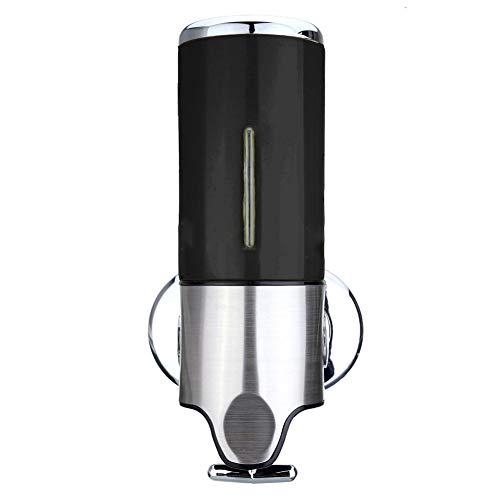 Xiangze Seifenspender Spülmittelspender Handseifenspender aus Kunststoff Wandmontage 500ml für Spülmittel und Flüssigseife