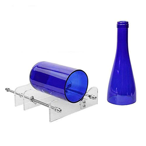 Shop-Story – Cortador de botellas de cristal manual – Vasos portavelas lámparas para crear tu propia decoración