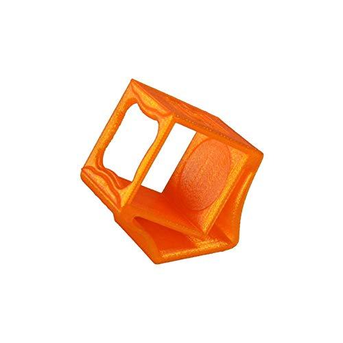XUSUYUNCHUANG-HAT TPU 3D Printing Kamerahalterung 3D Printed Halter-Sitzschutz Schutzschale for Foxeer Box FPV Racer Kamera DIY RC Drone Drone Zubehör (Color : Orange)