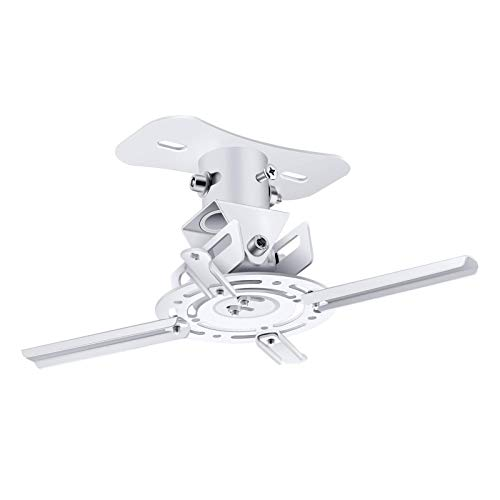 VANKYO Projector Ceiling Mount with Adjustable Angle & Extending Arms, Projector Mount Bracket Compatible with Performance V630W, Leisure 470, Leisure 530W Projector
