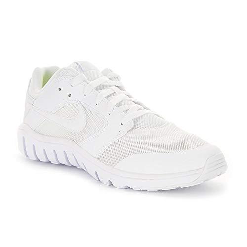Nike Herren Flex Raid Sneaker, Blanco (Blanco (White/White)), 44 EU
