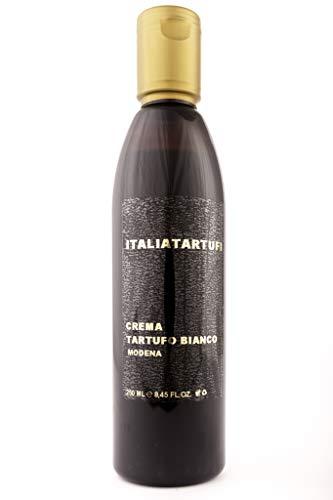 Italia Tartufi Crema de vinagre balsámico con trufa blanca de Módena Italia 250 ml