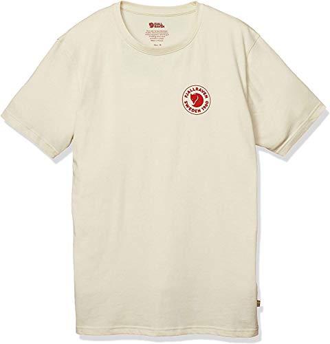 FJALLRAVEN 1960 Logo T-Shirt M Tricot Homme, Blanc Craie, XL