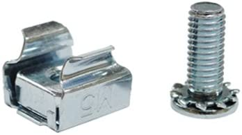 Akust M5 Server Rack Mounting Screw with Cage Nut 15 Sets