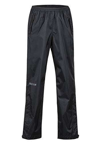 Marmot Kinder Kid's PreCip Pant Hardshell Regenhose, Winddicht, Wasserdicht, Atmungsaktiv, Black, S