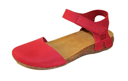 Loints of Holland ,  Damen Sandalen , Rot - Red Pepper - Größe: 37 EU
